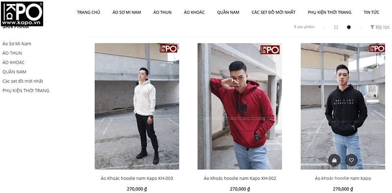 cửa hàng áo hoodie nam đẹp chất bạn không nên bỏ lỡ - Kapo