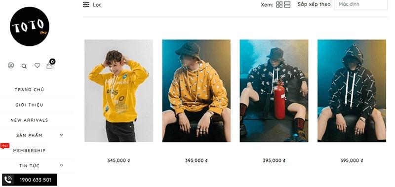 cửa hàng áo hoodie nam đẹp chất bạn không nên bỏ lỡ - TOTO Shop