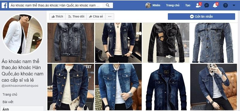 shop áo khoác jean nam tphcm - Áo khoác nam Hàn Quốc