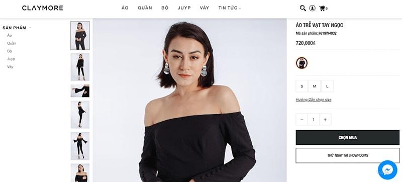 """cửa hàng bán áo trễ vai nữ """"siêu yêu"""" - Clay More Fashion"""