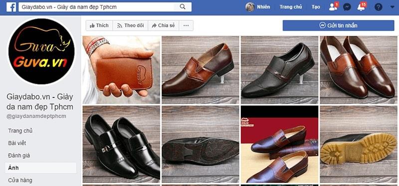 cửa hàng giày da nam tphcm dành cho quý ông - Giày da bò GUVA