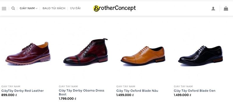 giày nam công sở tphcm Brother Concept