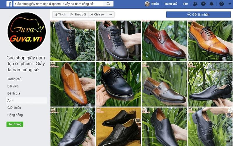 giày nam công sở tphcm Guva
