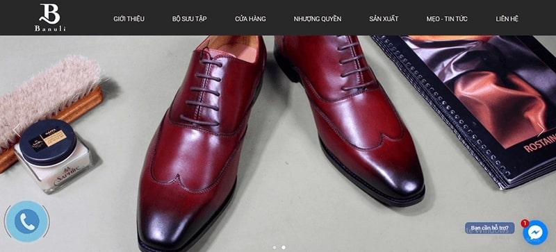 cửa hàng giày tây nam cao cấp tphcm - Banuli