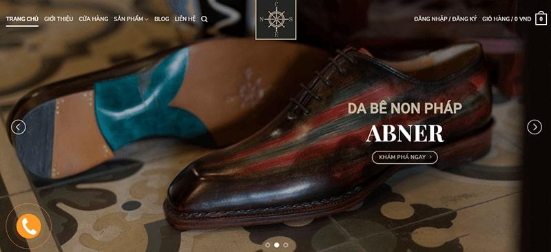 cửa hàng giày tây nam cao cấp tphcm - CNES Shoesmaker