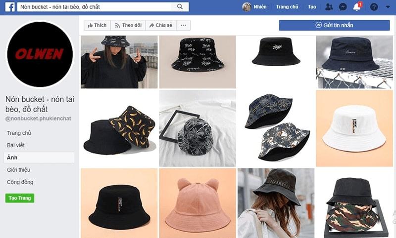 shop bán mũ bucket đẹp - Nón tai bèo đồ chất