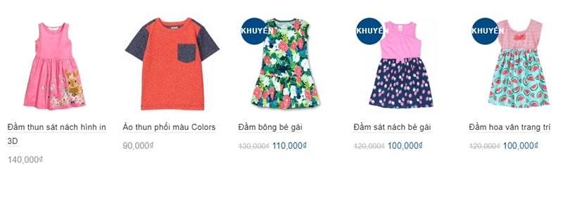 shop quần áo trẻ em xuất khẩu tphcm Kid Bee