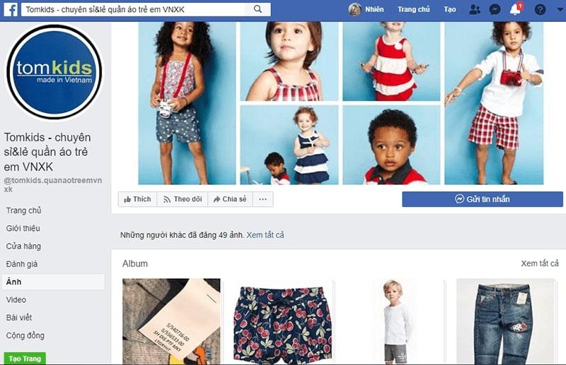 shop quần áo trẻ em xuất khẩu tphcm Tom Kids