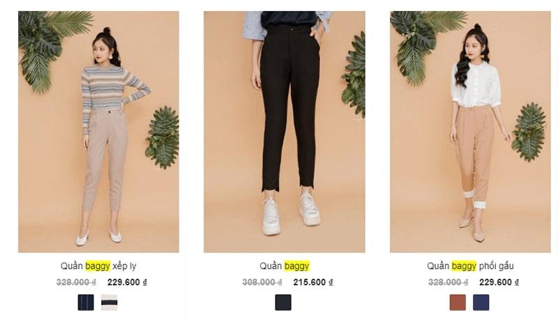 shop bán quần baggy nhiều mẫu đẹp - 92 Wear
