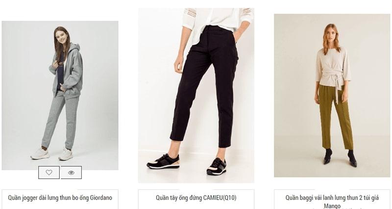 shop bán quần baggy nhiều mẫu đẹp - Ombre