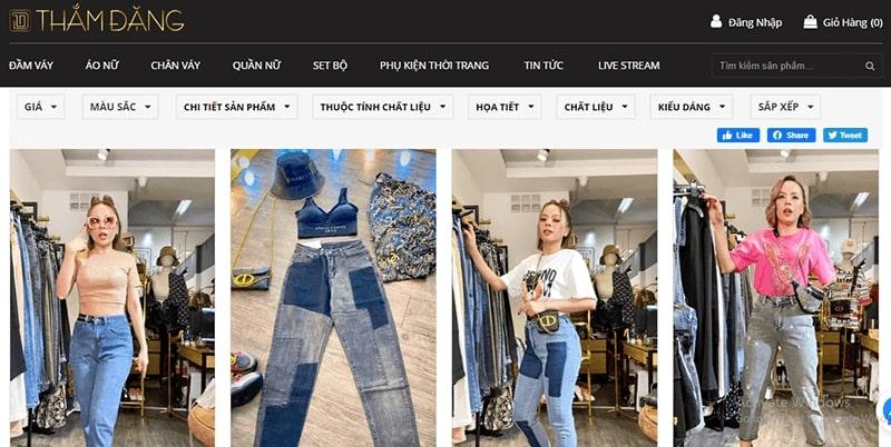 shop bán quần baggy nhiều mẫu đẹp - Thắm Đặng Store