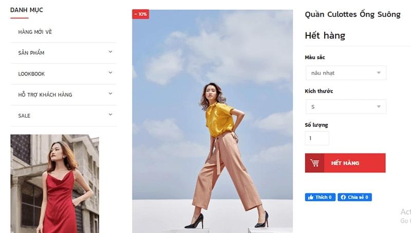 cửa hàng bán quần culottes đẹp uy tín - ClothesCrack