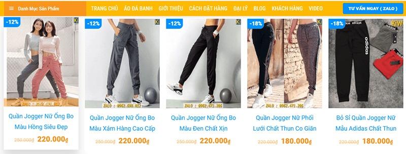 """địa điểm bán quần jogger nữ đẹp """"HOT"""" xình xịch - Kiwi Sport"""