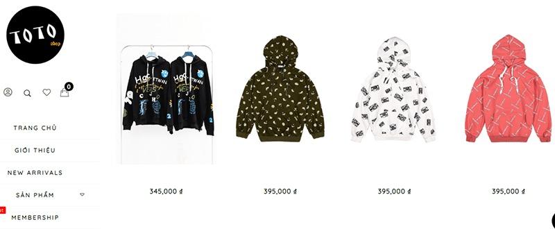 shop bán áo hoodie tphcm đẹp Toto Shop