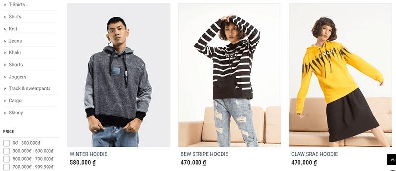 shop bán áo hoodie tphcm đẹp Triple R