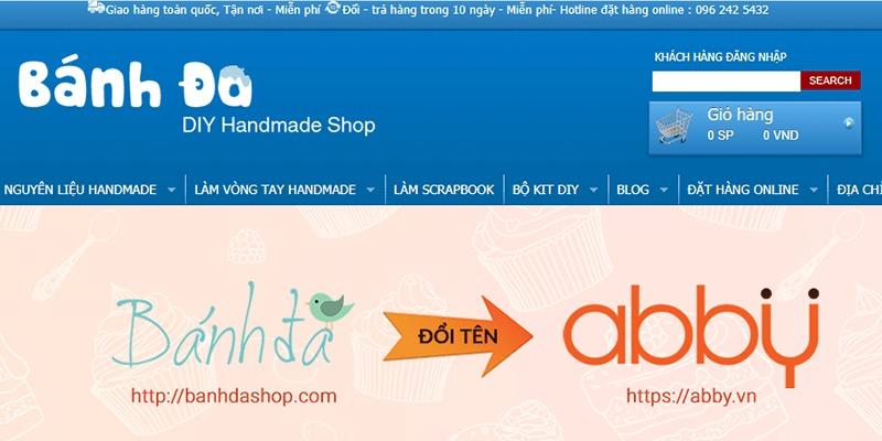 shop bán đồ handmade online Bánh Đa Shop