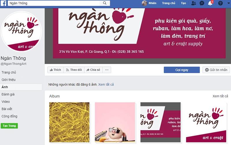 shop bán đồ handmade online Ngàn Thông