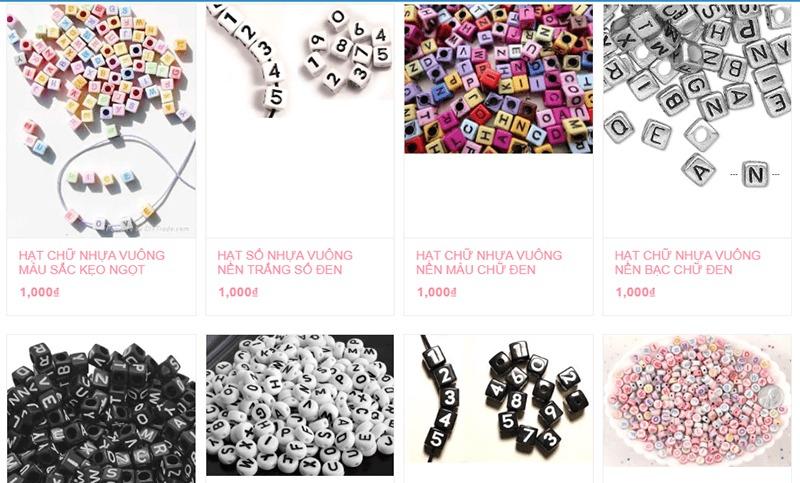 shop bán đồ handmade online Thiên Đường Thủ Công