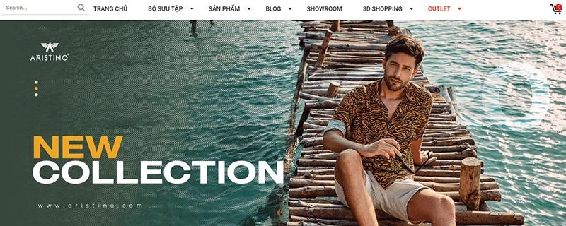 shop đồ nam thời trang đẹp giá rẻ - Aristino