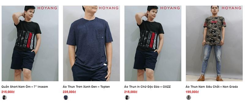 shop đồ nam thời trang đẹp giá rẻ - Ho Yang