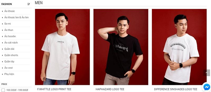 shop đồ nam thời trang đẹp giá rẻ - Minh Thư Fashion