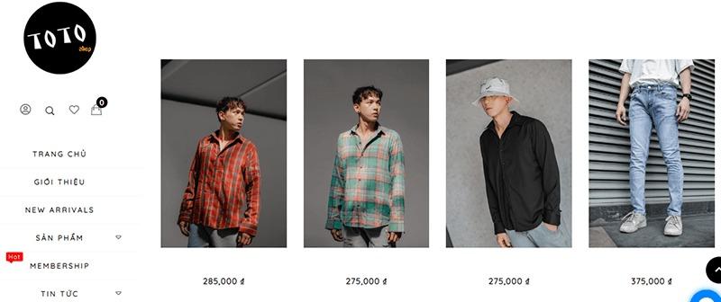 shop đồ nam thời trang đẹp giá rẻ - TOTO Shop