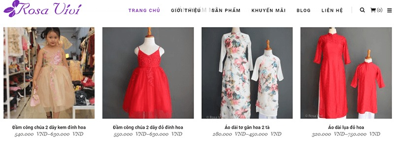 shop quần áo đường võ văn ngân - Rosa Vivi