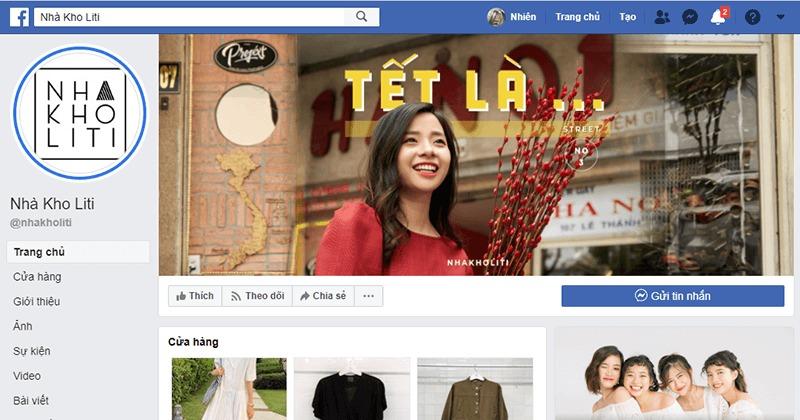 shop quần áo nữ ở tphcm facebook - Nhà Kho Li Ti