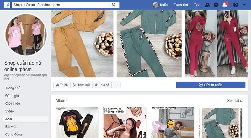shop quần áo online ở tphcm