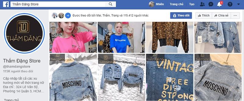 shop quần áo nữ ở tphcm facebook - Thắm Đặng Store