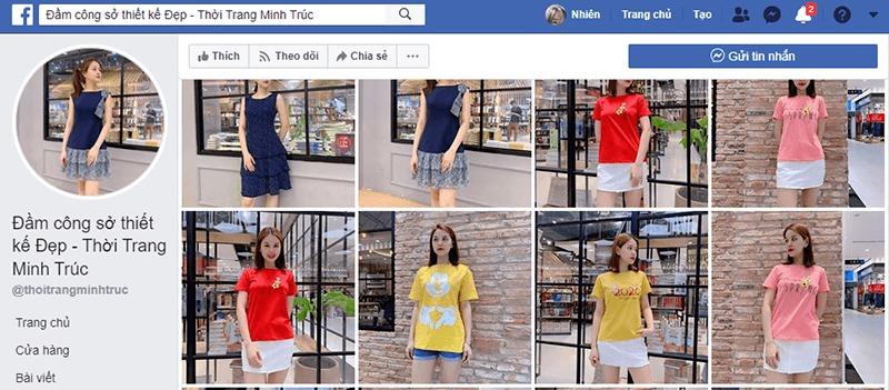 shop quần áo nữ ở tphcm facebook - Minh trúc