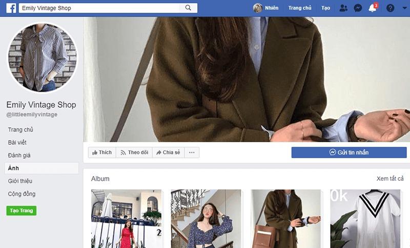 shop quần áo vintage ở tphcm đẹp, giá rẻ - Emily House