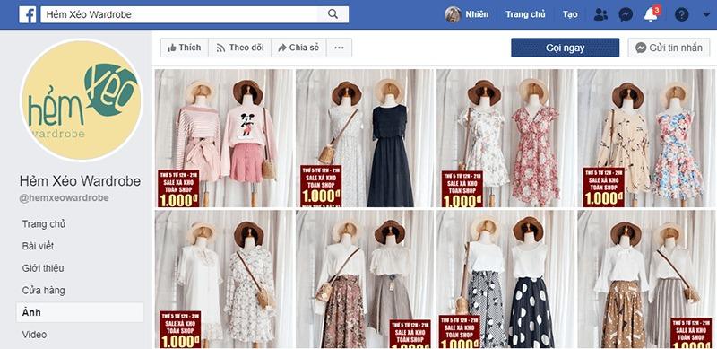 shop quần áo vintage ở tphcm đẹp, giá rẻ - Hẻm Xéo Wardore