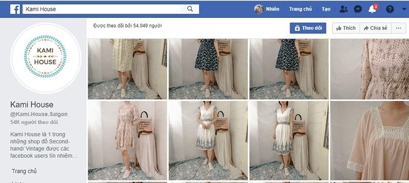 shop quần áo vintage ở tphcm đẹp, giá rẻ - Kami House