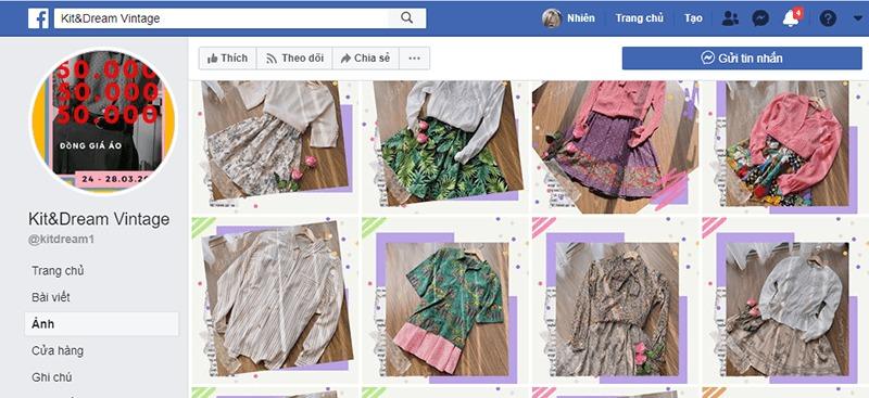 shop quần áo vintage ở tphcm đẹp, giá rẻ - Kit & Dream Shop