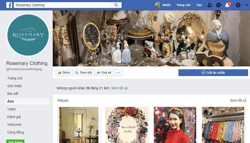shop quần áo vintage ở tphcm đẹp, giá rẻ - Rosamery Clothing