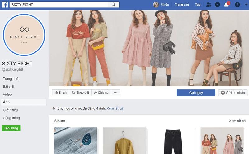 shop quần áo vintage ở tphcm đẹp, giá rẻ - Sixty Eight