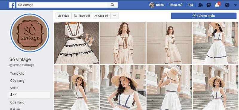 shop quần áo vintage ở tphcm đẹp, giá rẻ - Sò Vintage