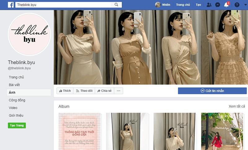shop quần áo vintage ở tphcm đẹp, giá rẻ - The Blink