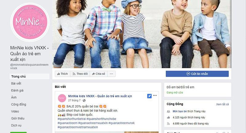 Minnie Kids VNXK shop quần áo trẻ em xuất khẩu tại tphcm