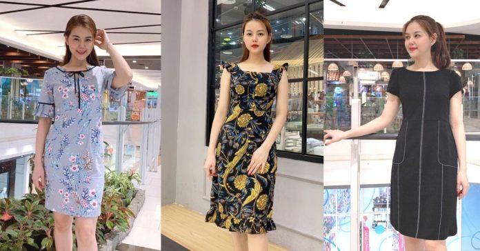 Đầm suông công sở: Đơn giản nhưng chẳng hề đơn điệu