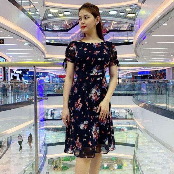 Đầm xoè phong cách vintage