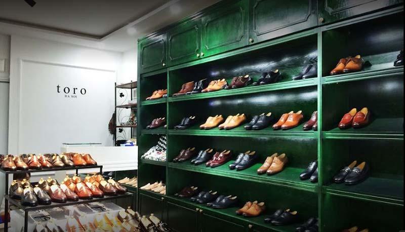 Mua giày da nam tại Toroshoes Hà Nội