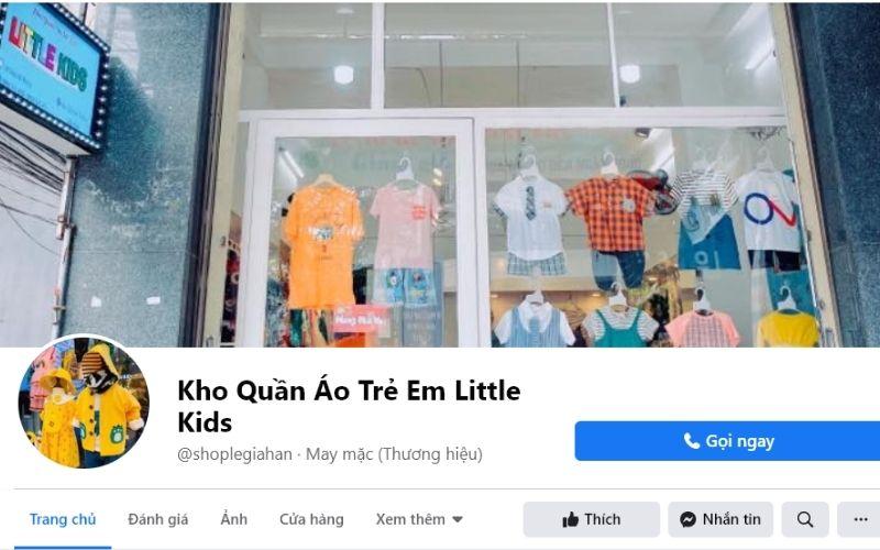 Kho quần áo trẻ em Little Kids tại Đà Nẵng