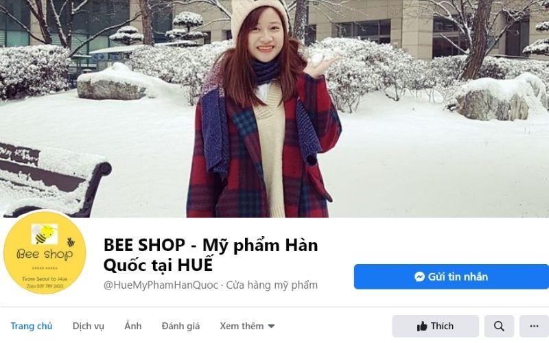 Beeshop là cửa hàng xinh xắn do một bạn nữ du học tại Hàn Quốc quản lí