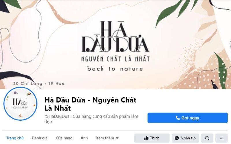 Nếu ưa thích những mỹ phẩm có nguồn gốc từ tự nhiên thì Hà Dầu Dừa rất phù hợp dành cho bạn