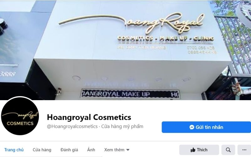 HoangRoyal chuyên bán mỹ phẩm xách tay cao cấp