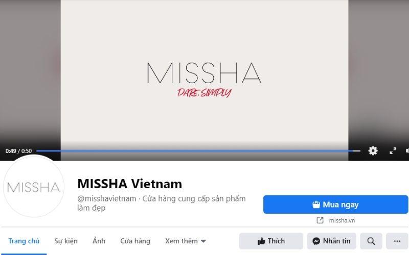 Hơn 20 năm thành lập và phát triển, Missha là cái tên nổi tiếng trên thế giới