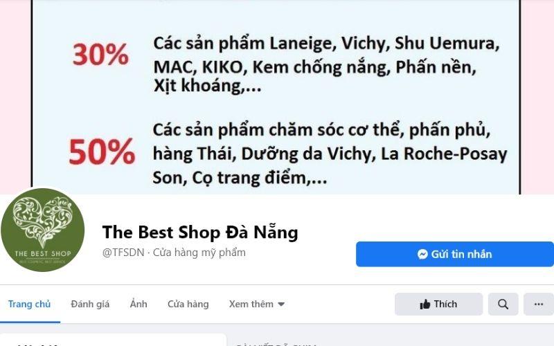 The Best shop luôn nhận được tình cảm yêu quý của khách hàng trong nhiều năm