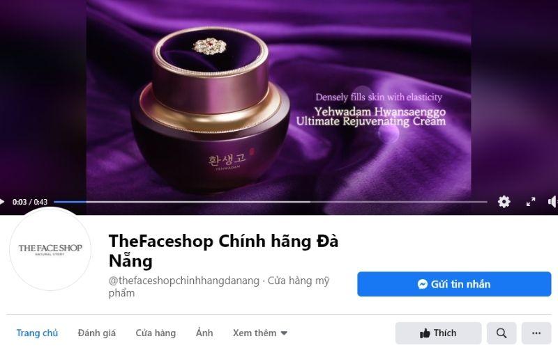The Faceshop là thương hiệu lâu năm được nhiều chị em tin tưởng